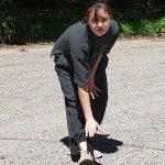 Monkey Rubs The Ground